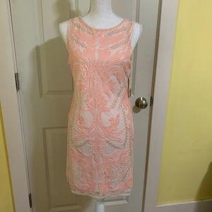 Pink sequin dress - NWT
